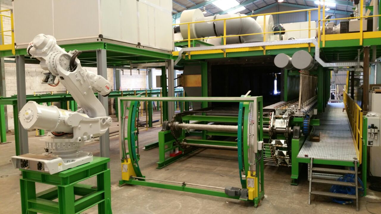Manufacturing & installation of machinery