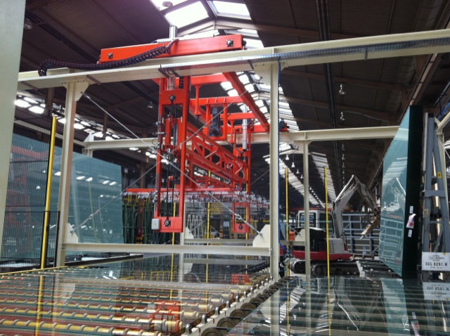 Flat glass industry ECOL
